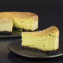 Green Tea Cheesecake-slice