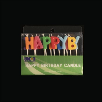 [ACC007] Word Candle (Happy Birthday)