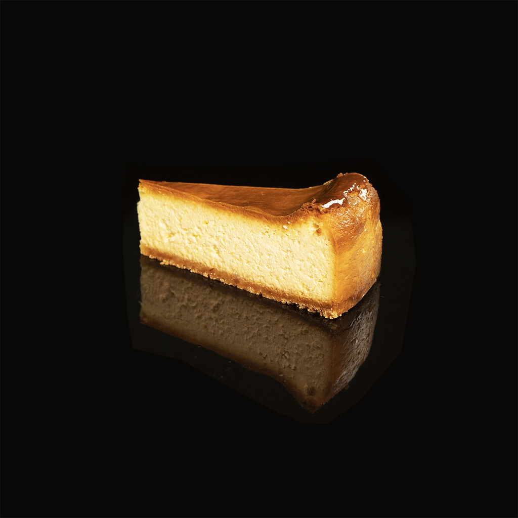 Classic Baked Cheese Cake Slice